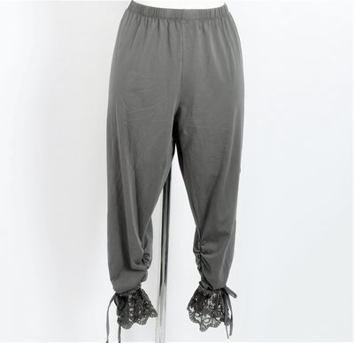 Legging. Super mooie grijze legging met kant.