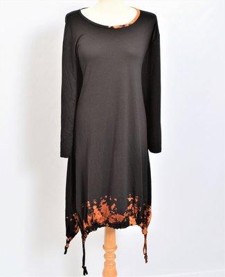 Thom B jurk, A-lijn, batik / Tie-dye