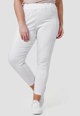 Legging,  met steekzakken, wit, Kekoo, elastische tailleband, mooie pasvorm