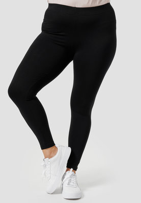 Legging, zwart, Kekoo, brede elastische tailleband, mooie pasvorm