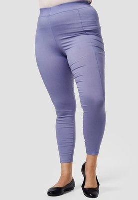 Legging, blauw, met steekzakken, Kekoo, elastische tailleband, mooie pasvorm