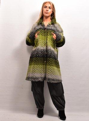 Jas/ Vest, groen, New Collection, zakken met kleppen