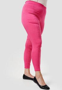 Legging, roze, met steekzakken, Kekoo, elastische tailleband, mooie pasvorm
